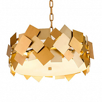 ������ Gold Plate Chandelier 4